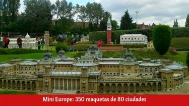 Mini Europe en Bruselas (Bélgica)