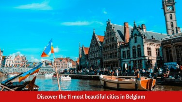 Discover the 11 most beautiful cities in Belgium