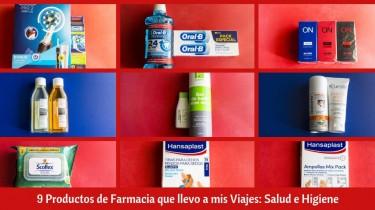 9 Productos de Farmacia que llevo a mis Viajes: Salud e Higiene