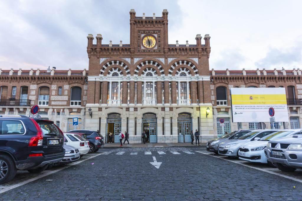 Estación de tren de Aranjuez.