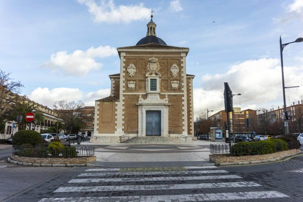 Iglesia de Nuestra Señora de las Angustias en Aranjuez.