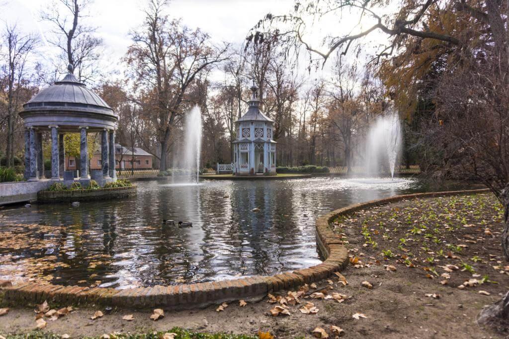 Jardín del Príncipe.