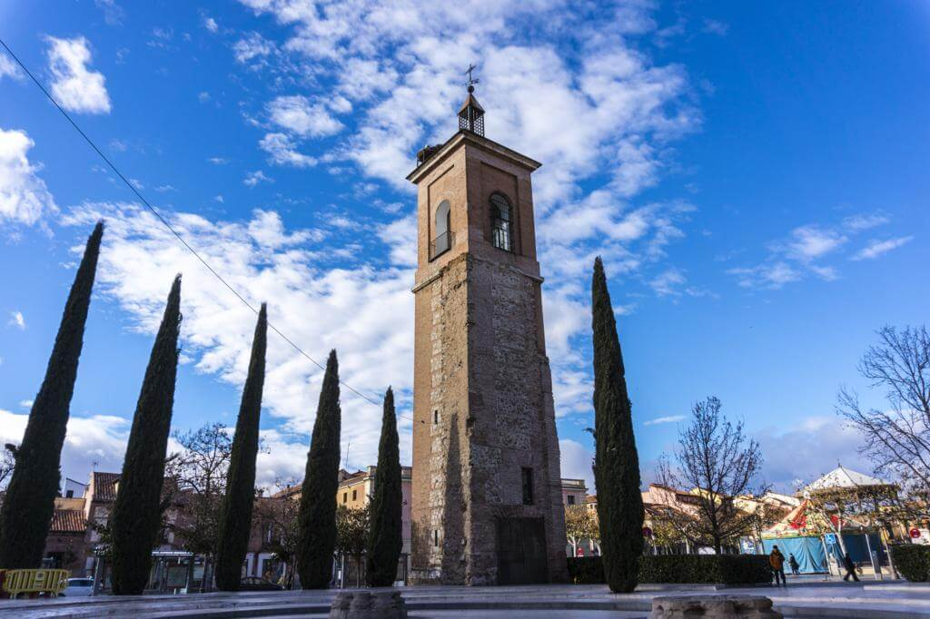Torre de Santa María en Alcalá de Henares.