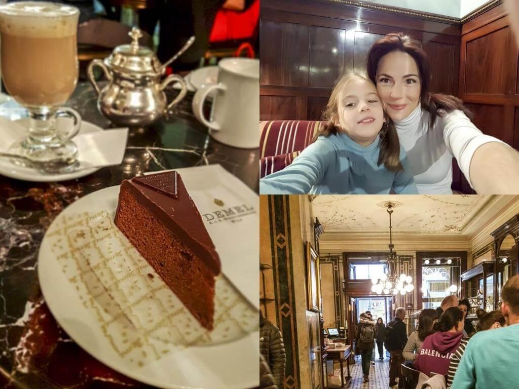 ¿Qué ver en Viena en 2 días? Café Demel.