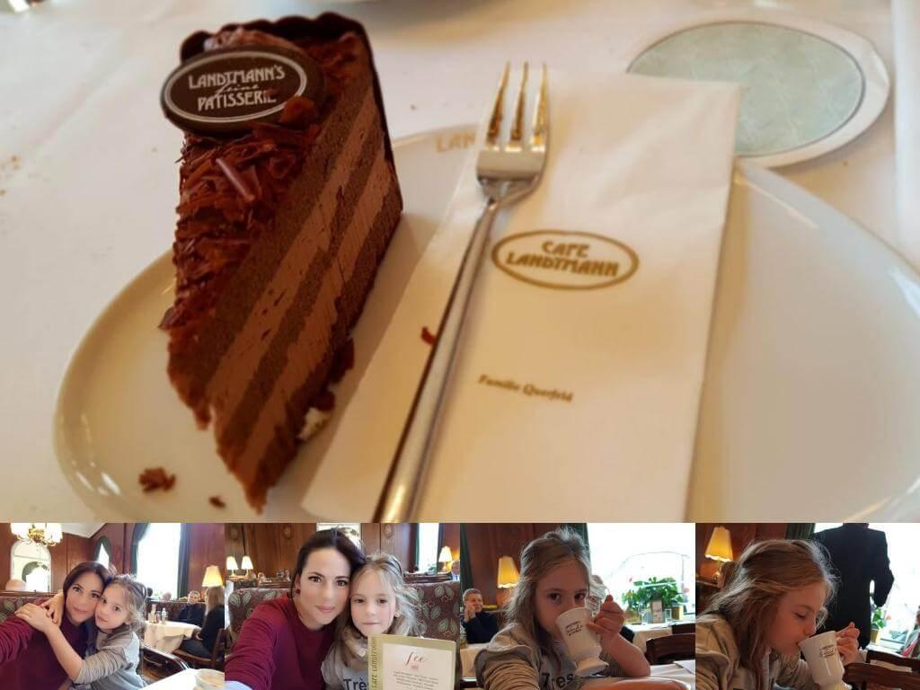¿Qué ver en Viena en 2 días? Cafe Landtmann.