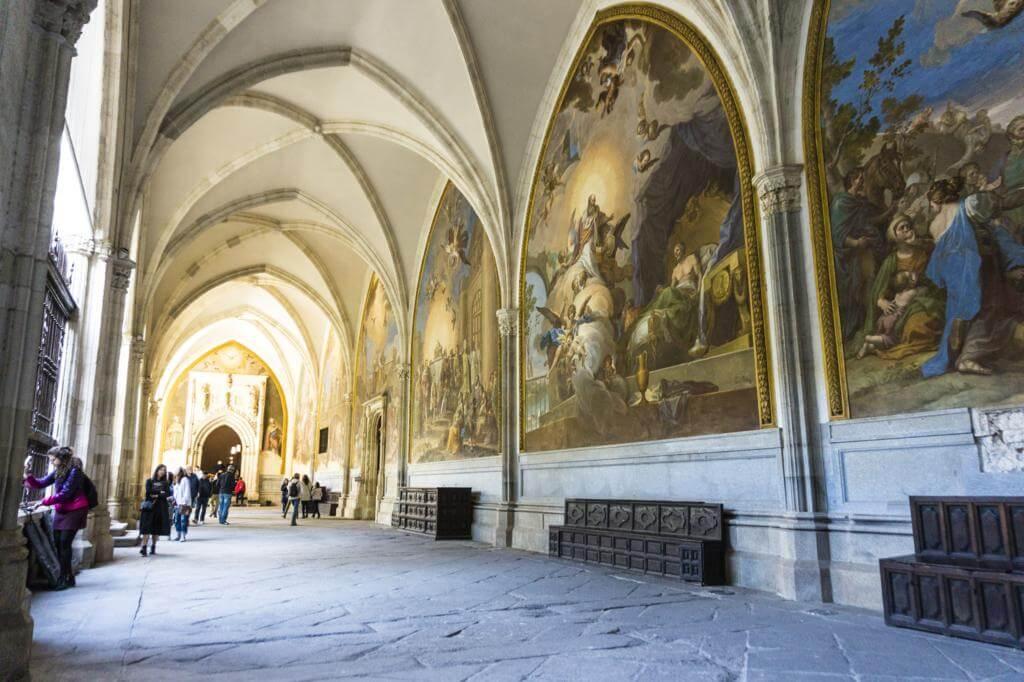 Claustro de la Catedral de Toledo.