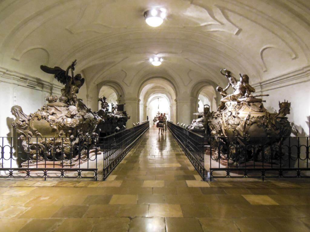 Cripta de los Capuchinos de Viena.