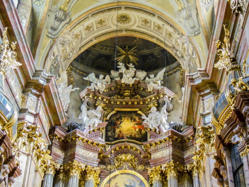 Iglesia de San Pedro en Viena (Peterskirche).