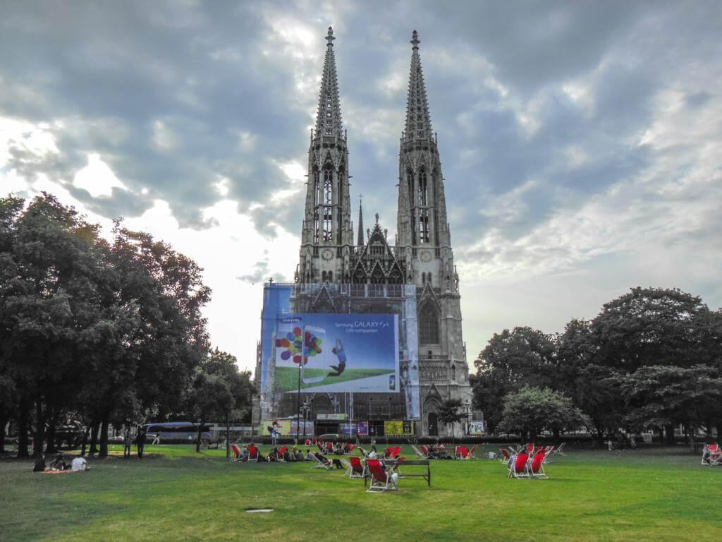 Iglesia Votiva en Viena (Votivkirche).