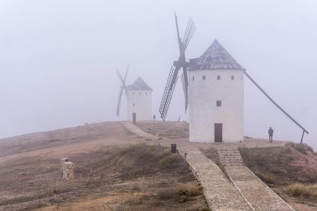 Molinos de viento de Alcázar de San Juan.