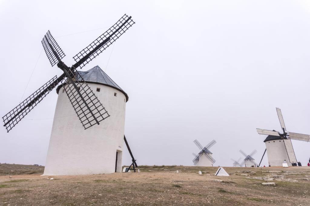 Molinos de viento de Campo de Criptana.