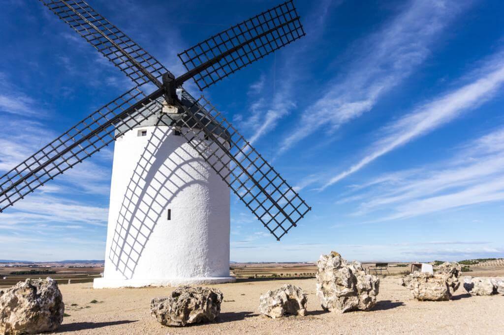 Molinos de viento de El Romeral.