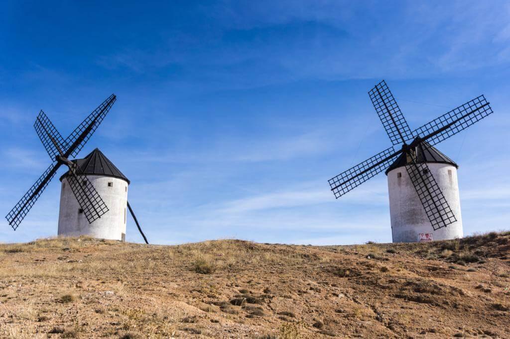 Molinos de viento de Tembleque.