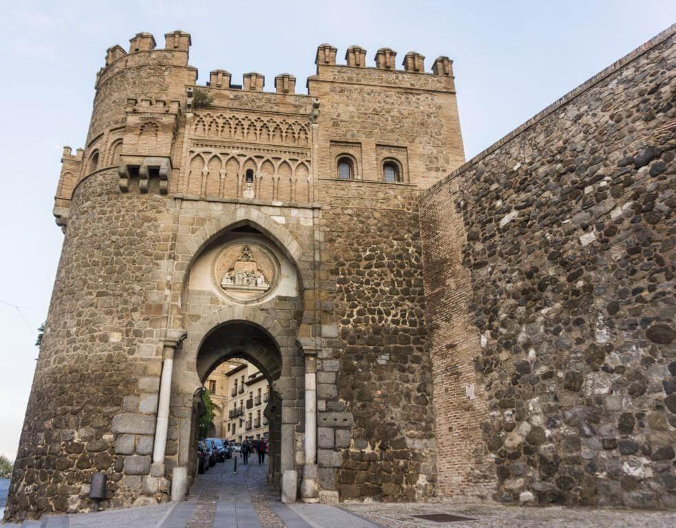 Puerta del Sol de Toledo.