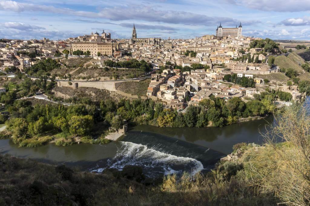 Toledo desde el Mirador del Valle.