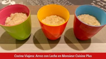 Arroz con Leche en Monsieur Cuisine Plus
