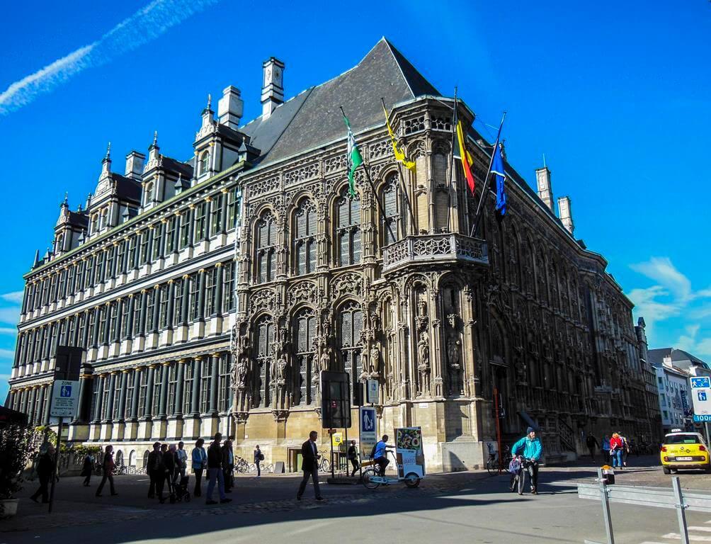 Ayuntamiento de Gante.