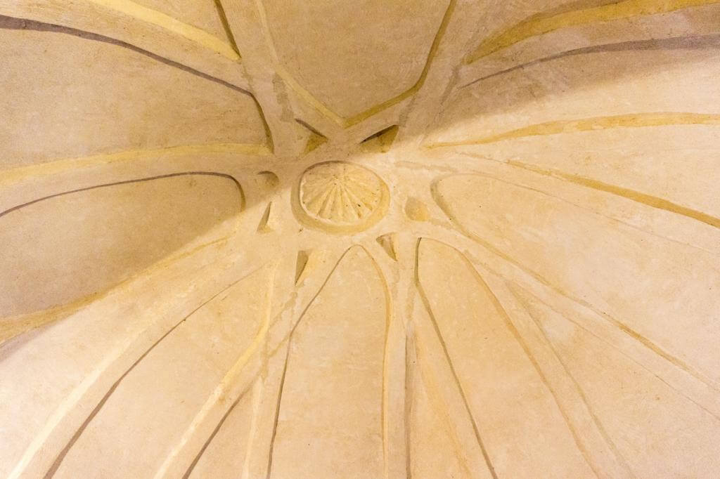 Bóveda del Castillo de Biar.