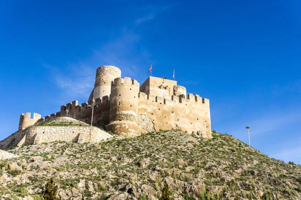 Castillo de Biar.