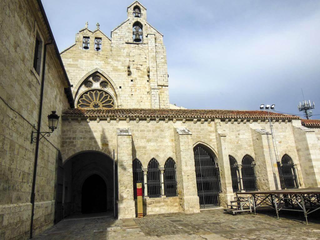 Iglesia de San Francisco en Palencia.