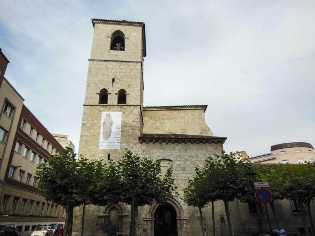 Iglesia de San Lázaro en Palencia.