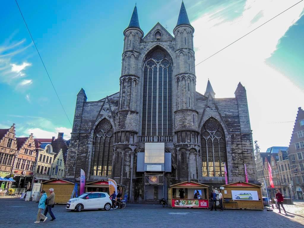Iglesia de San Nicolás en Gante.