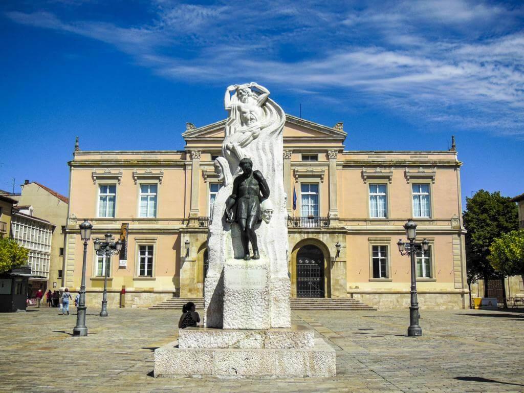 Plaza Mayor de Palencia.