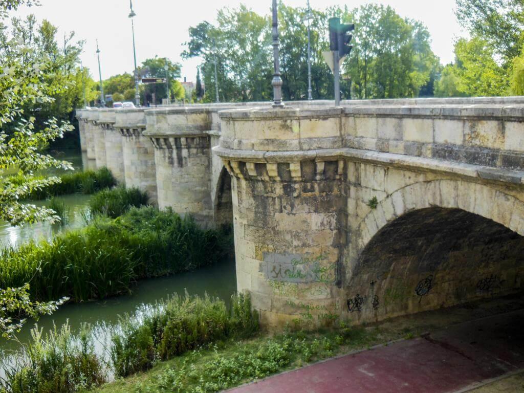 Puente Mayor de Palencia.
