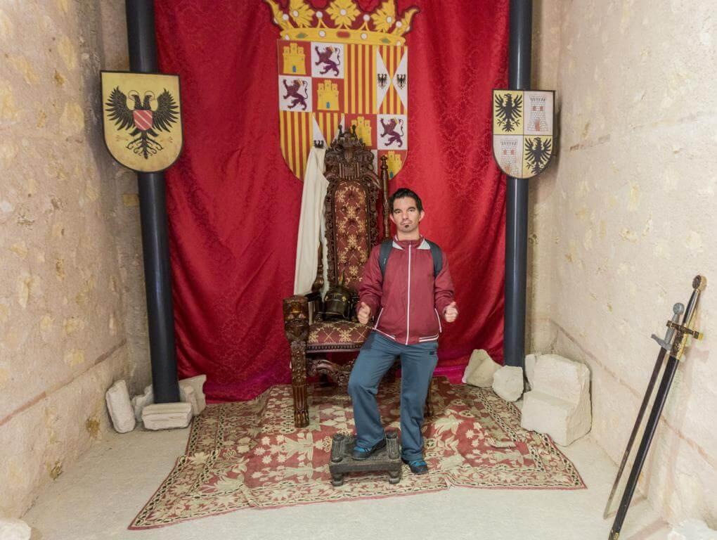 Trono del Castillo de Castalla.
