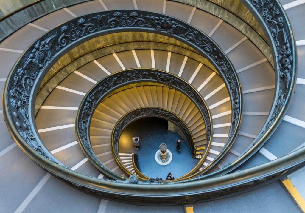 Las Escaleras de Bramante.