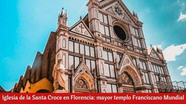 Iglesia de la Santa Croce en Florencia