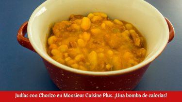 Judías con Chorizo en Monsieur Cuisine Plus
