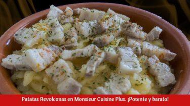 Patatas Revolconas en Monsieur Cuisine Plus