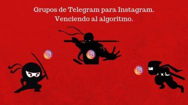Grupos de Telegram para Instagram