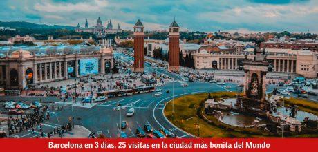 ¿Qué ver en Barcelona en 3 días?