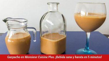 Gazpacho en Monsieur Cuisine Plus