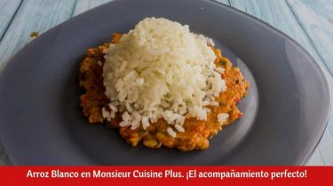 Arroz Blanco en Monsieur Cuisine Plus