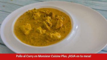 Pollo al Curry en Monsieur Cuisine Plus