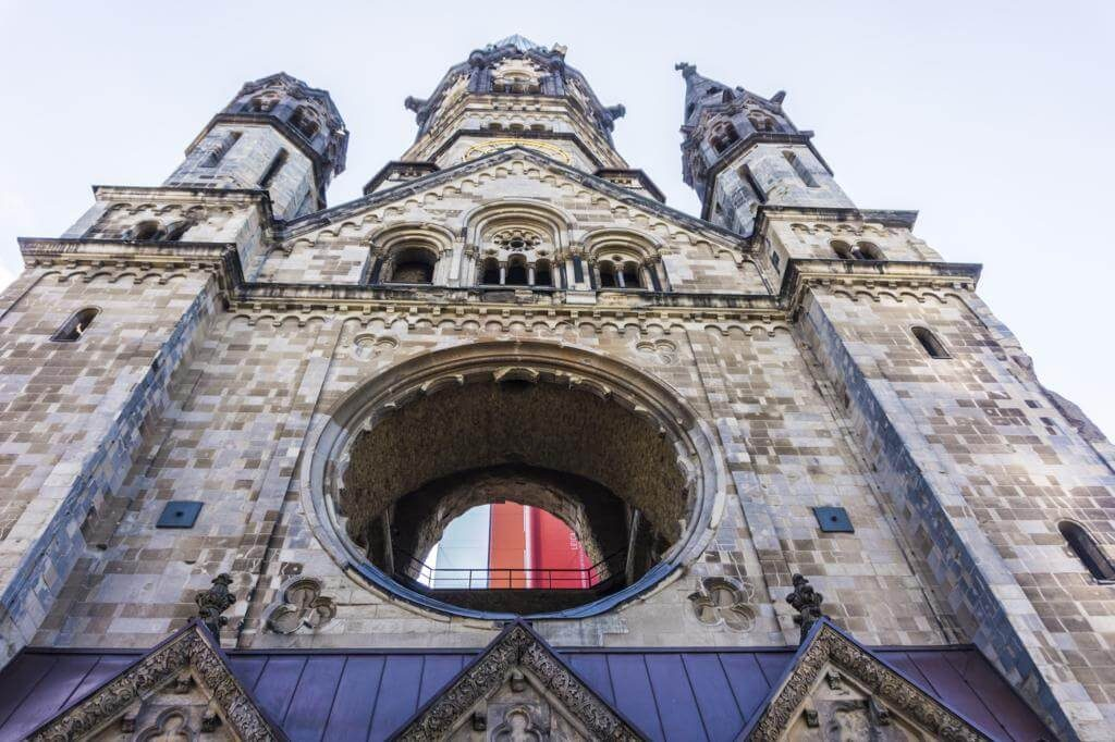 Iglesia Memorial Kaiser Wilhelm.