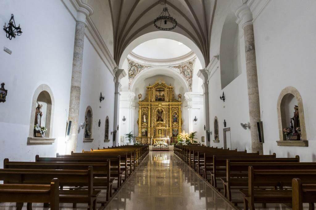 Iglesia de San Andrés en Alcalá del Júcar.