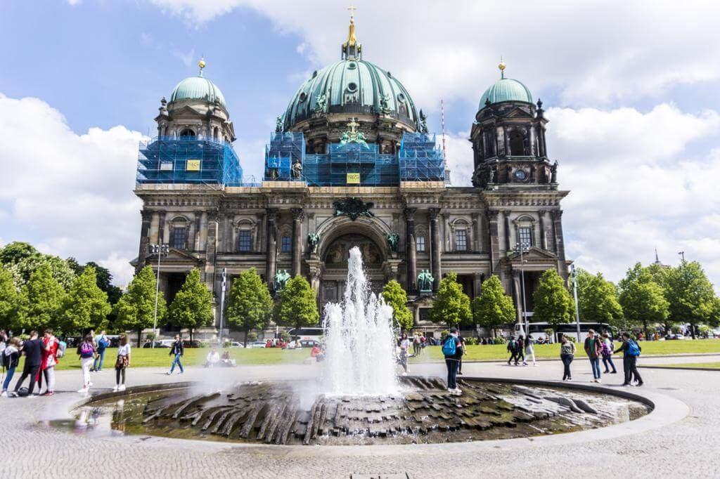 Catedral de Berlín, una de las ciudades más bonitas de Alemania.