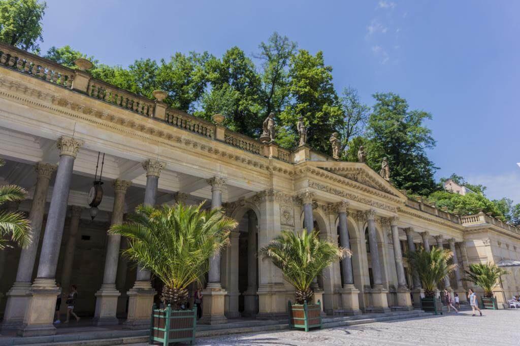 Columnata del Molino.