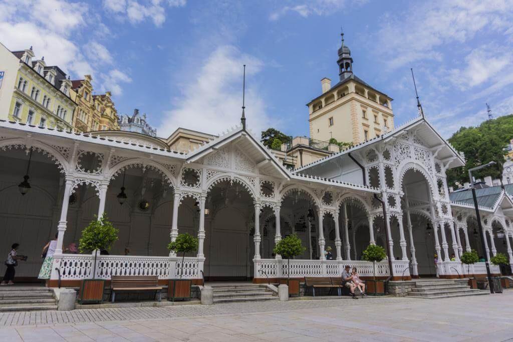 Columnata del Mercado.