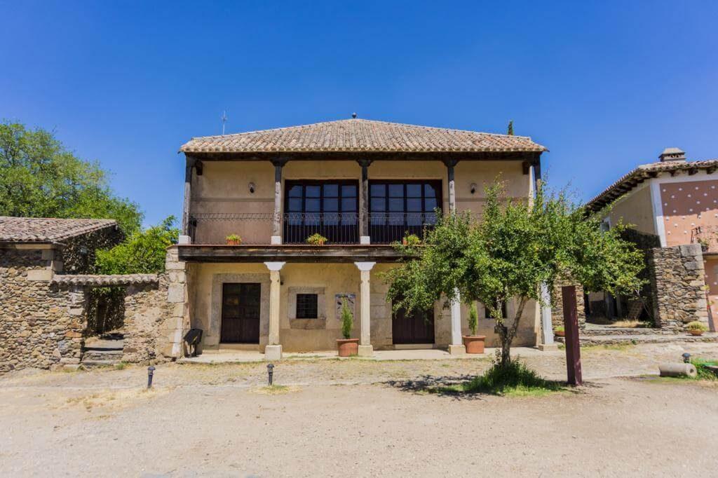 Plaza mayor de Granadilla.