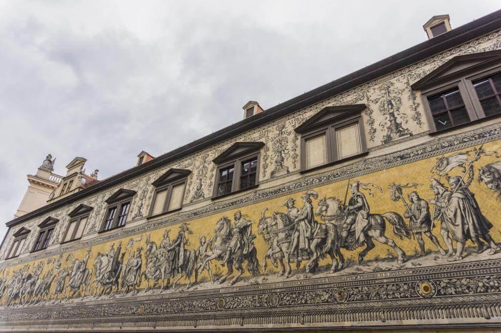 Mosaico del Desfile de los Príncipes.