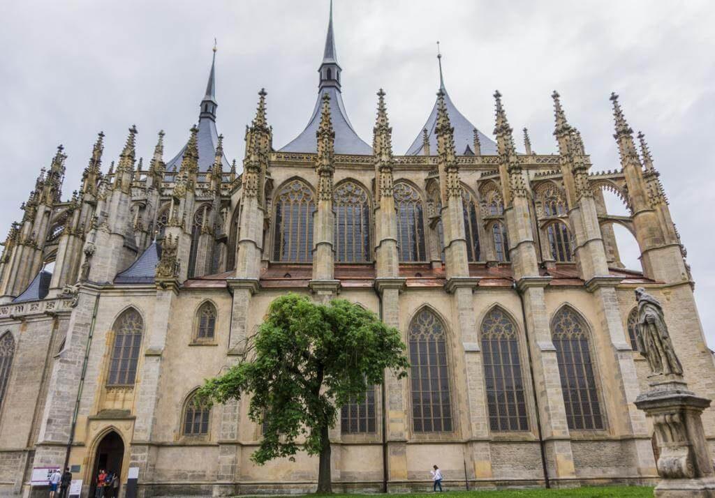Catedral de Santa Bárbara en Kutná Hora.