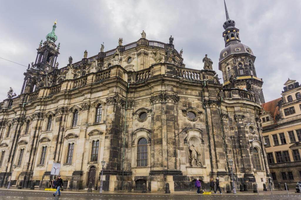 Catedral de la Santísima Trinidad en Dresde.