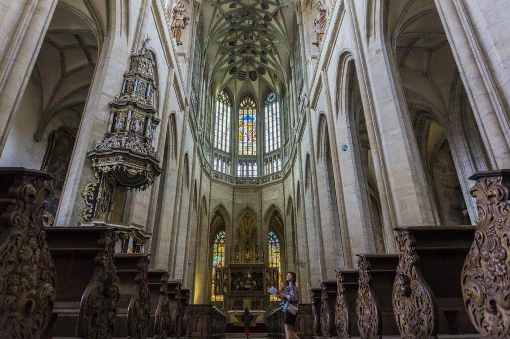 ¿Qué ver en Kutná Hora? Catedral de Santa Bárbara.