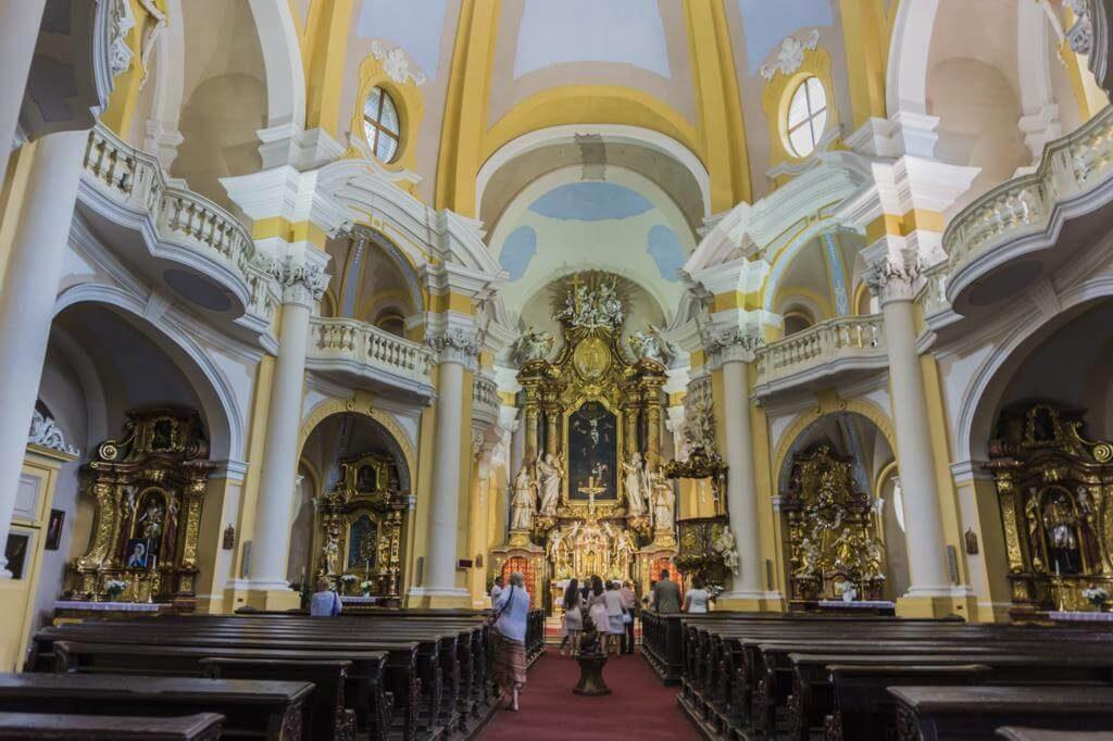 Interior de la Iglesia de Santa María Magdalena.