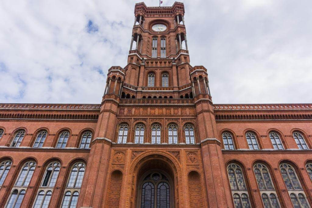 Ayuntamiento Rojo de Berlín.